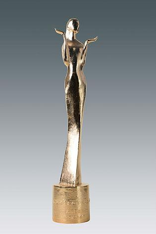 中国文化产业年度人物奖杯